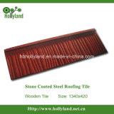 Mattonelle di tetto d'acciaio rivestite di pietra (mattonelle di legno)