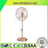 Ventilatore del basamento del ventilatore dell'oggetto d'antiquariato del metallo da 16 pollici che si leva in piedi ventilatore industriale
