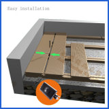Decking полости WPC 25*150mm водоустойчивый деревянный пластичный составной для напольного