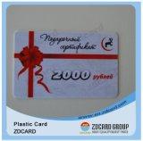 Cartão de identificação de plástico ecológico