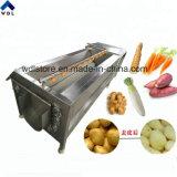 Prix le moins cher Fruits Légumes Racines de manioc Peeler Peeling du rouleau de nettoyage de la machine à laver fabrique