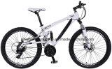 bicicleta de montanha da suspensão do dobro da liga 26inch com 21 velocidades