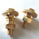 CNC die de AutoSchroeven van de Bout van de Bouten van de Nagels van de Noten van Delen machinaal bewerken