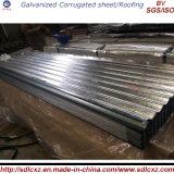 Zink-Beschichtung-galvanisiertes Stahlblech/Dach-Blatt mit gutem Preis