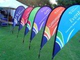 Hot Sale Beach Flag tissu pour le matériel d'impression directe de colorant