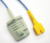 Sensor suave adulto de la extremidad SpO2 del MEK dB9-6pin