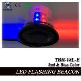 Faro que contellea del poder más elevado LED en SMD rojo y azul LED (TBH-18L-E)