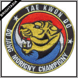 Fire Fighting Logo (BYH-10935)를 위한 주문 Embroidery Patch