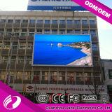 P10 Pantalla LED al aire libre Video en pared Edificio