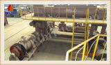 Tijolo do solo que faz a maquinaria para a linha de produção