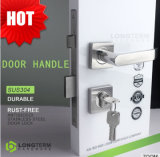 Hot Sale Stainless Steel Hotel Door Mortise Handle with Lock