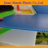 Protection en plastique ondulée d'étage