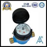 Одиночный тип счетчик воды двигателя сухой колеса лопасти (LXSC-13D8)
