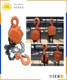 500 Kilogramm-hydraulische Kettenhebevorrichtung-/Kettenriemenscheiben-Block/manuelle Hebevorrichtung