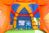 Trasparenza gonfiabile del Bouncer della Camera gonfiabile del Bouncer dell'ippopotamo combinata per i bambini CB3003