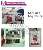 Totalmente automática de parches de plástico bolso de la manija que hace la máquina