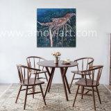 ホーム装飾のためのハンドメイドのイセエビの油絵