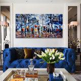 Pitture a olio impressionanti della via di Parigi per la decorazione domestica