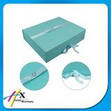 Flat Pack aceptar pedidos personalizados cajas de regalo de papel plegable