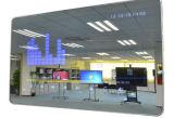 Dedi 43pouces moniteur LCD Hotel salle de toilette, extrémité de la barre de publicité, de miroir magique de la publicité d'affichage