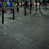 Pavimentazione antisdrucciolevole di gomma ripresa di ginnastica