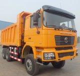 De Vrachtwagen van Shacman 6X4 Vrachtwagen van de Stortplaats van 30 Ton de Op zwaar werk berekende voor Verkoop