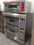 Hongling Comercial panadería horno de la cubierta doble horno de la cubierta de gas