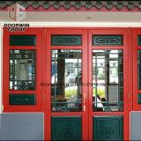 Chinês tradicional estilo Widnow debulhar com design da Grade