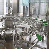 Vollautomatische Plastikflaschen-Wasser-waschende füllende mit einer Kappe bedeckende und Etikettiermaschine