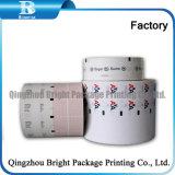 Cheap Printd Flexo jetable type de rouleau de papier d'enrubannage