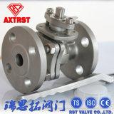 2PC CF8/CF8m из нержавеющей стали с плавающей запятой API фланцевый шаровой клапан