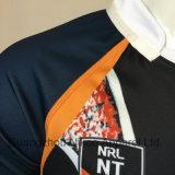 Camisas sublimadas y cortocircuitos del rugbi de los hombres de encargo de la alta calidad