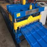PLC vitrage en acier de couleur automatique machine à profiler de tuiles de toiture