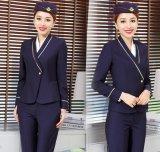 Uniformes faits sur commande d'hôtesse de ligne aérienne de mode et uniformes d'aviateur pour des uniformes de stewards (hôtesse de l'air)