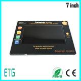 Premières cartes de voeux chaudes d'affaires avec l'écran LCD