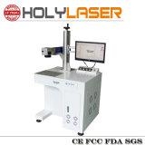 Macchina per incidere d'acciaio del laser della fibra di stampa della marcatura di marchio del metallo
