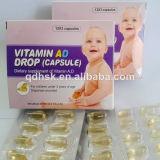 Витамин Ad (мягких капсул) для детей