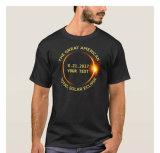 T-shirt col rond avec manches courtes