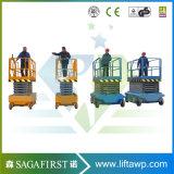12m hydraulische selbstangetriebene elektrische Scissor Aufzug-Aufbau-Hebezeug