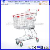 Carrello di acquisto del supermercato con buona qualità