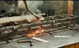 Il ferro galvanizzato ha saldato le parti usate per la guardavia dell'azienda agricola