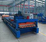 La maquinaria de construcción de la hoja de techos de metal