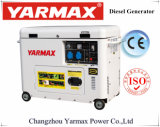 Yarmax 4000 188f Diesel 5000W Stille Diesel van de Generator 4kw 5kw Generator Genset Ym6500e