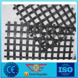 中国のガラス繊維ゆがみによって編まれる編まれた二軸のGeogrid