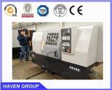 Tipo horizontal CNC Máquina torno de precisão elevada