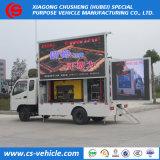 P4 P6-P8 P10 4X2 Full LED cor caminhões de Publicidade Móvel para venda