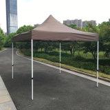 der 3X3m Kaffee-im Freienstahl knallen oben Gazebo-faltendes Zelt