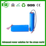 11.1V 2600mAh Li-ion Battery Pack para instrumento médico de Dispositivos Médicos Medical Euipment