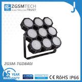 840W LED Luminaria Proyectores para Pista de Tenis