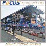 Flachbett-Behälter-Schlussteil des China-goldener Lieferanten-40FT für Verkauf